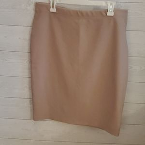 Forever 21 Tan Pencil Skirt Size 2X